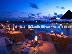 Dine with your feet in the sand  - Beach Dining - Vilu Reef Beach Resort – Maldives