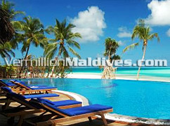 Infinity Pool - Relaxing Holiday - Vilu Reef Beach Resort – Maldives Hotel