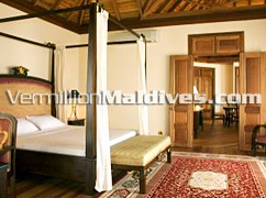 Presidential Suites are Luxurious and Spacious in Vilu Reef Beach & Spa