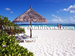 Relax and have a rest or just take a lazy walk around Vilu Reef Beach & Spa - Maldives