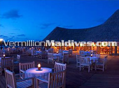 Restaurant comes with great service in Vilu Reef Beach and Spa – Maldives