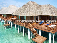 Water Villa with sundecks in Vilu Reef Beach and Spa – Maldives Retreat