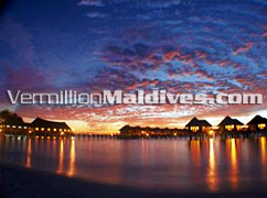 Water Villas at Sunset gives an exceptional touch to Vilu Reef Beach & Spa – Maldives
