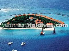 Aerial View of Vivanta by Taj, Corel Reef – Luxury Retreat in Maldives