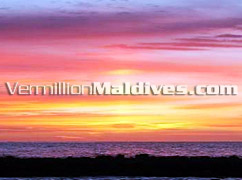 Beautiful Sun Set in Vivanta by Taj Corel Reef – Maldives Beach Hotel