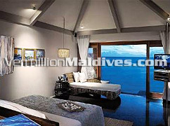 Bed Rooms of Lagoon Villa accommodation – Best Resort in Asia