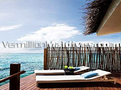 Day beds in your Villa in Vivanta by Taj Luxury Resort – Honeymoon Resorts Maldives
