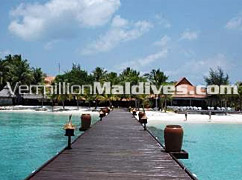 Jetty – path way to your Dream Hotel in Maldives - Vivanta by Taj, Corel Reef Maldives
