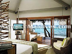 Luxury Interior in the Lagoon Villas of Resort Vivanta by Taj Corel Reef – Maldives