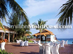 Restaurant of Vivanta by Taj Corel Reef – Maldives Resort Hotel