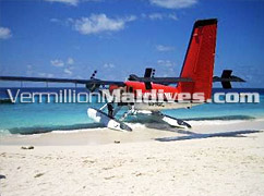 Seaplane Excursions in Vivanta by Taj Corel reef – View Maldives from Top