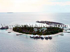Aerial View - W Retreat Maldives – Luxury Resort Hotel of the Maldives