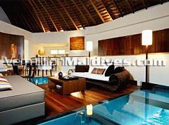 Resort with Glass floor Villas? W Retreat is the place to be for Luxury Maldives