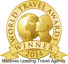 WINNER World travel award 2014 - Maldives Leading Travel Agency